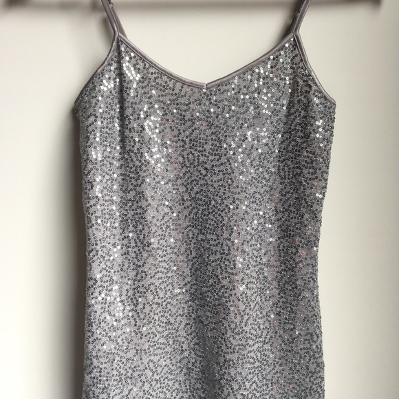 Express Tops - Express Sequined Camisole Top XS.